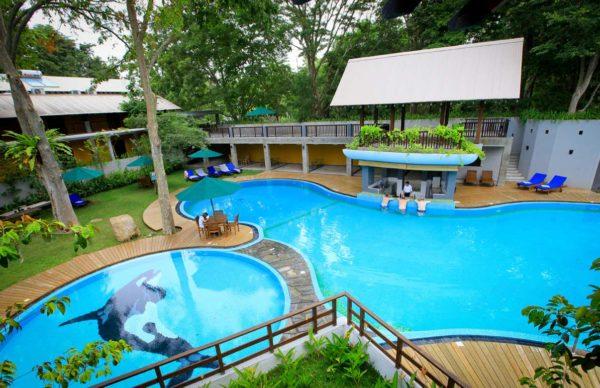 Safari Pool in Sri Lanka